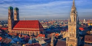 Rathaus und Frauenkirche München