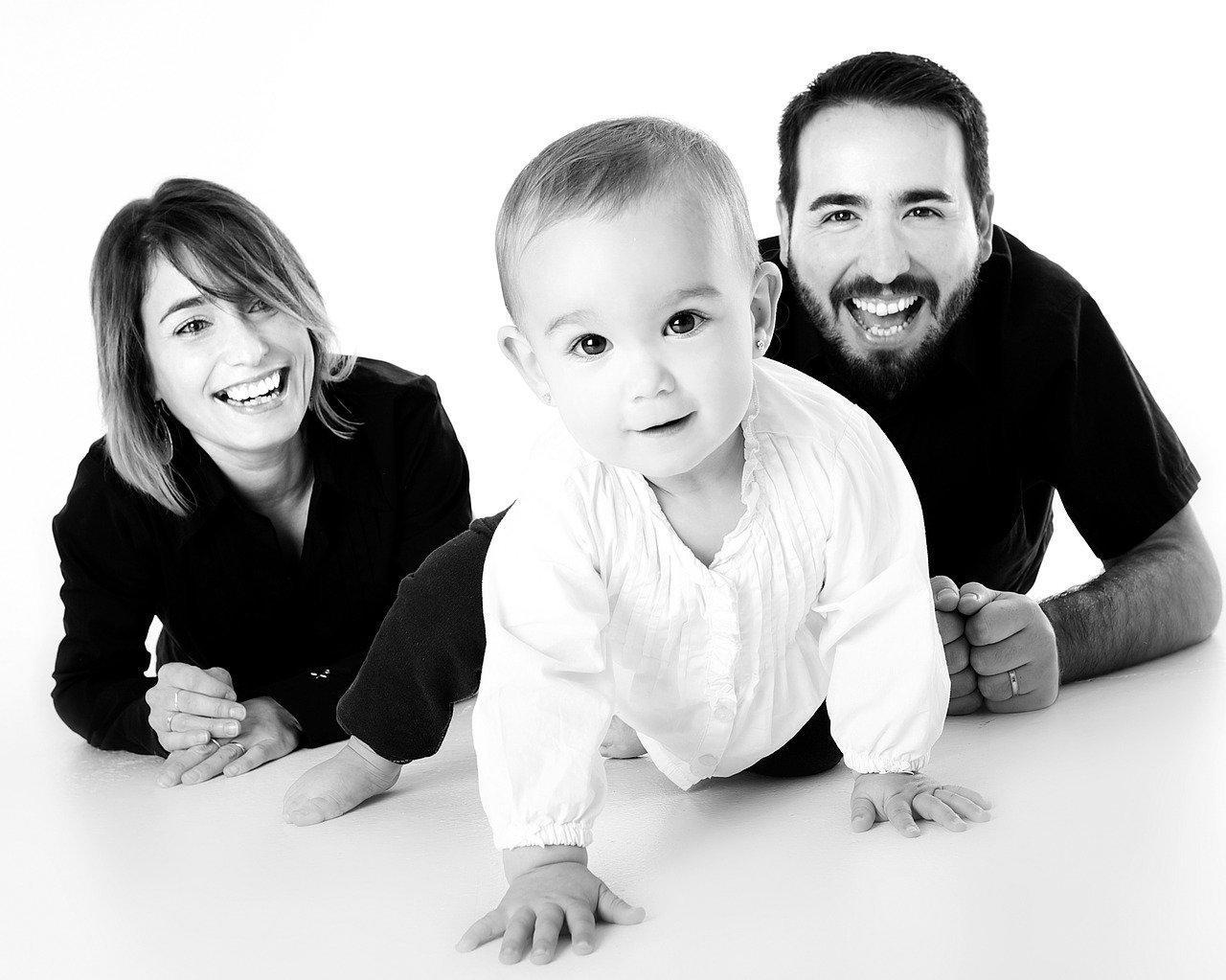 Vater & Mutter mit Kind